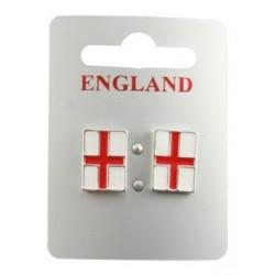 Earring set - England World Cup St George Cross Earrings...