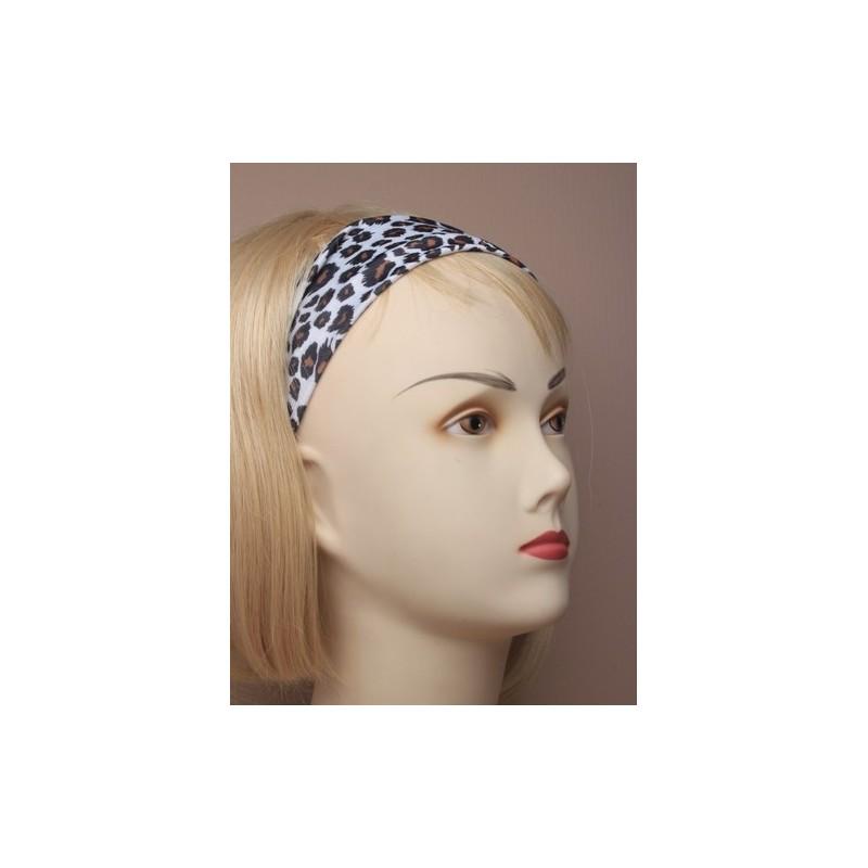 banda para la cabeza kylie tejido elástico animal print