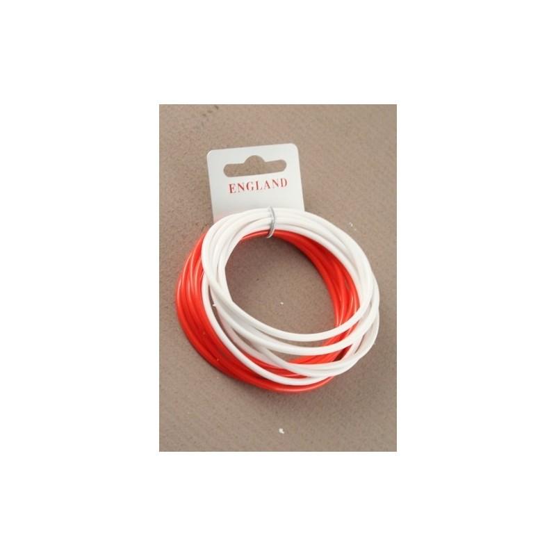 angleterre rouge et blanc jeu de bracelet