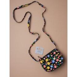 Kids Purse Mini-Handbag with colourful flower print