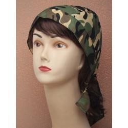 Camouflage zandanna -...
