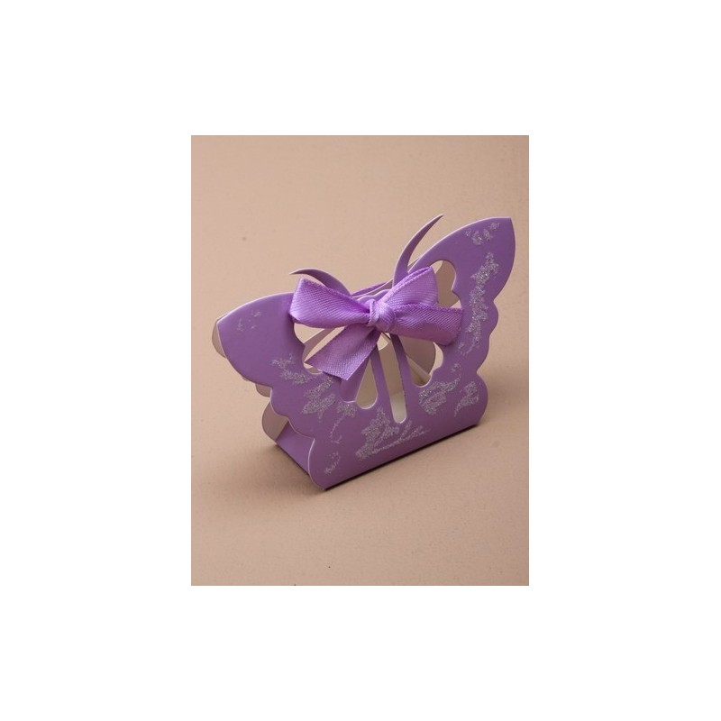 dimensões exteriores 6.5x10x3cm brilho lilás borboleta caixa de presente favor. 5.5x4cm triângulo interno. este item ...