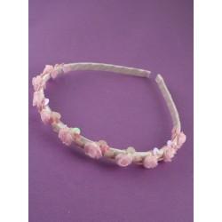 Aliceband - Rosebud ribbon wound headband alice band