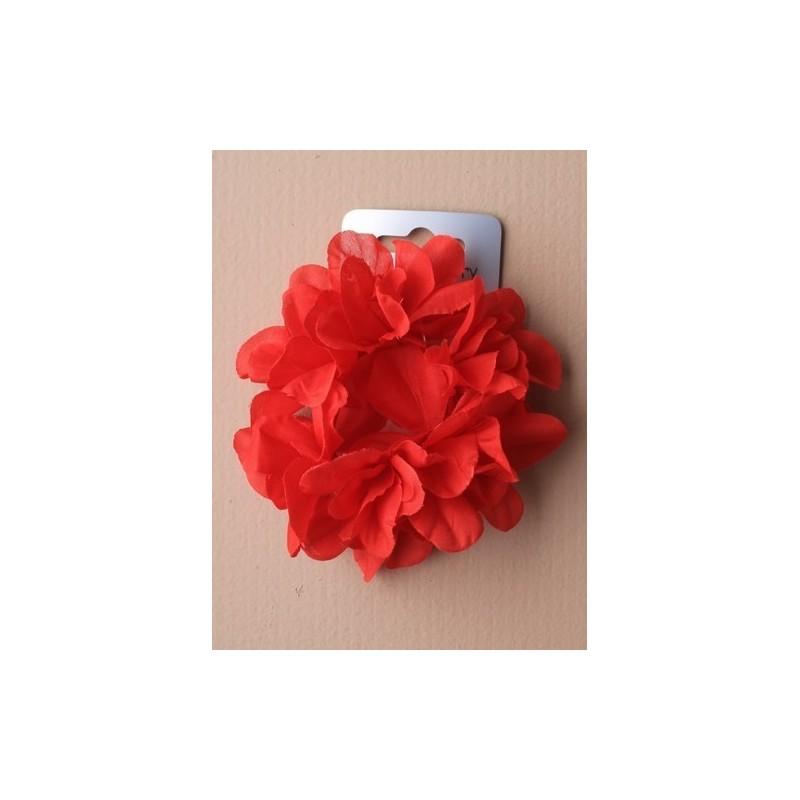 de colores brillantes banda para el cabello flor. en un surtido de rojo / amarillo / azul / blanco / morado y rosa.