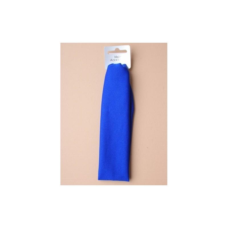 Stretch Headband - Royal Blue 17x5cm stretch kylie headband
