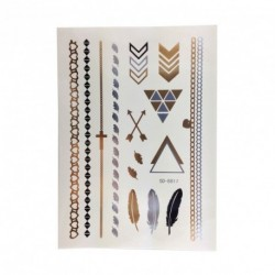 Metallic Temporary Tattoos...