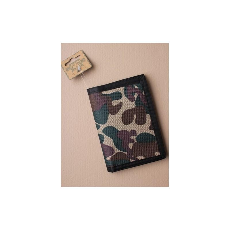 billetera - camuflaje billetera en 2 combinaciones de colores