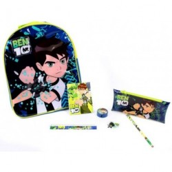 ben 10 backpack and stationary set