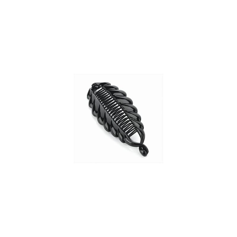 pescado clip color diseño de la cola de plátano cabello negro.