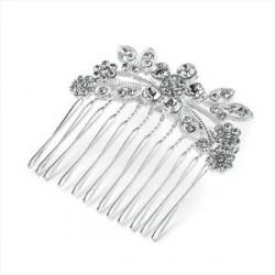 Silver colour crystal hair...