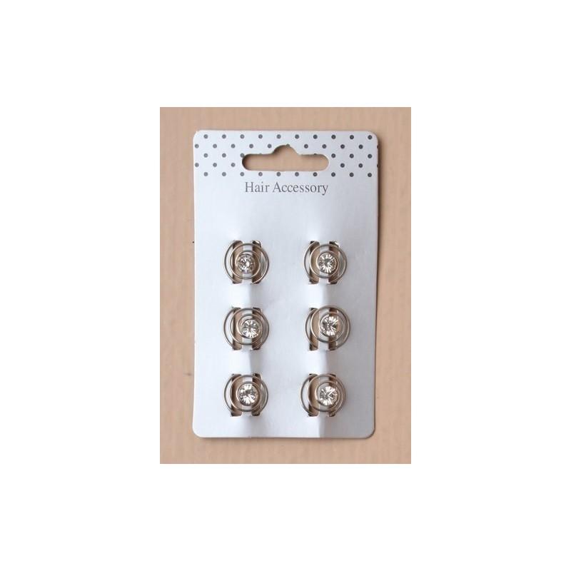 Tarjeta de giro de 6 mm cristalinas en bobinas.