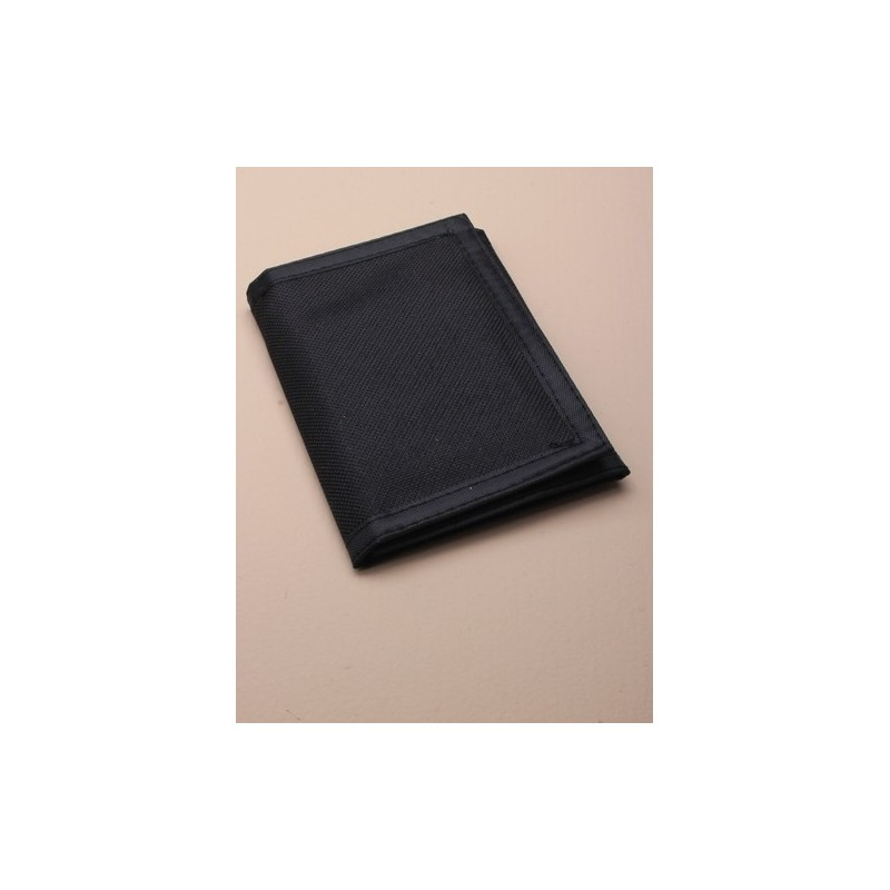 folded size: 12.5x9cm boys plain black wallet
