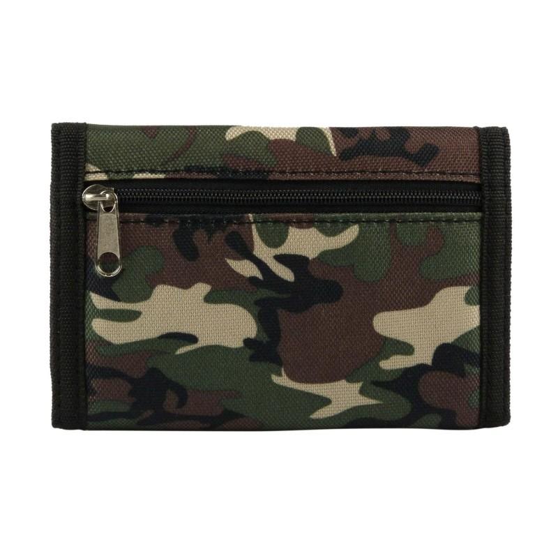 carteira - camuflagem carteira de dobraduras
