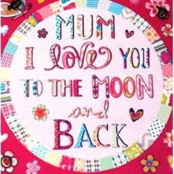 Metal Sign 10x10cm - Mum I...