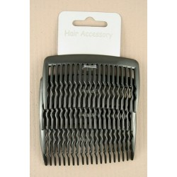 Hair Combs - A pack of 4 x 8cm black hair combs