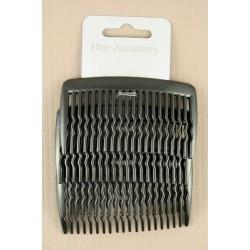 Hair Combs - A pack of 4 x 8cm black hair combs
