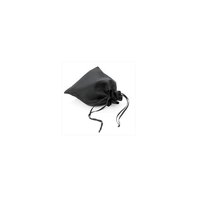 bolsa de regalo - negro bolsa grande regalo mirada del lazo de satén tamaño.