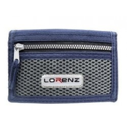 Trifold sports wallet with...