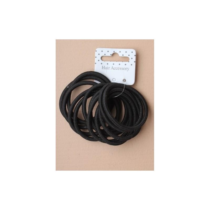 Hair Elastics - Set of 12 snag free endless hair elastics