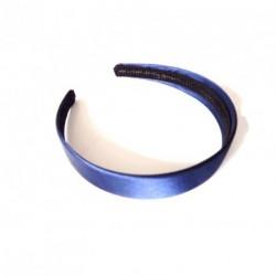 Aliceband - Navy Satin ~25mm alice band headband