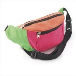 Bum Bag - Multi neon colour bum bag.