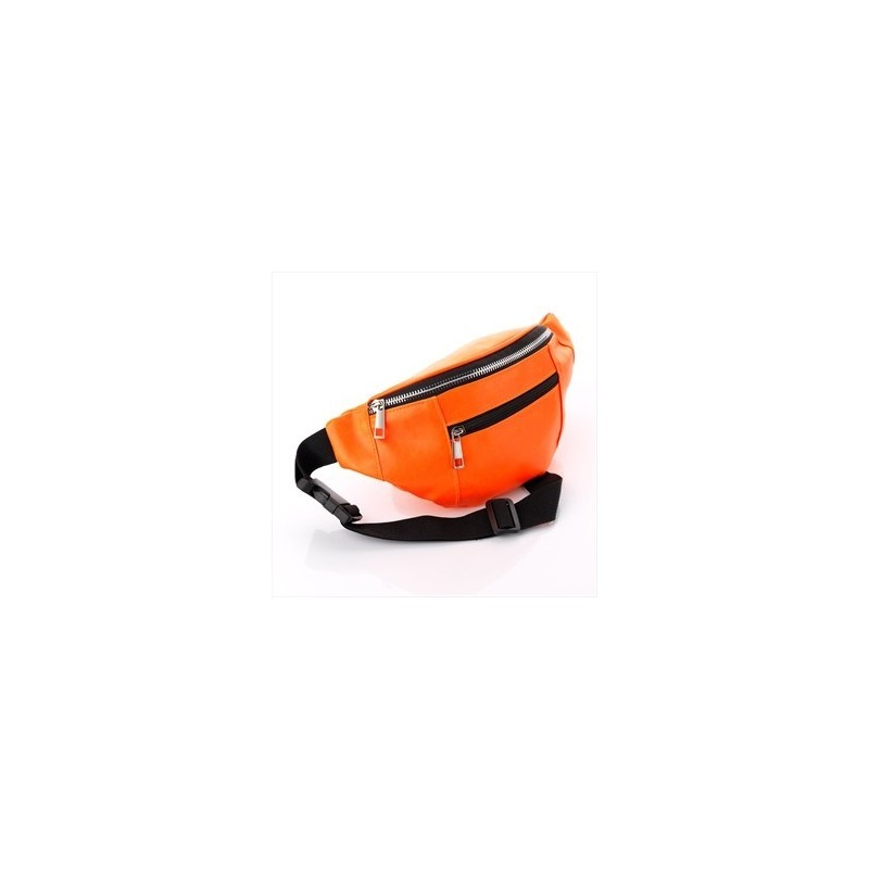 riñonera - neón riñonera color naranja.