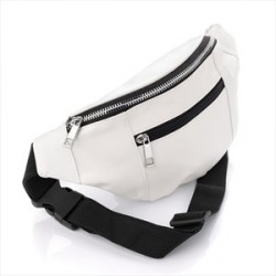 Bum Bag - White bum bag.