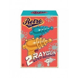 Retro toys - 2 pack ray gun...