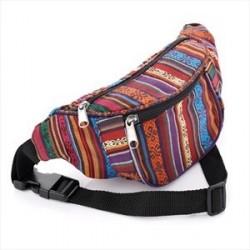 Bum Bag - Tribal Festival print bum bag.