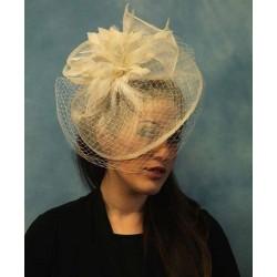 Hatinator Headband Hair band - Navy Blue & Cream Large...