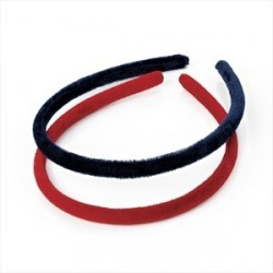 Aliceband - Two piece red...
