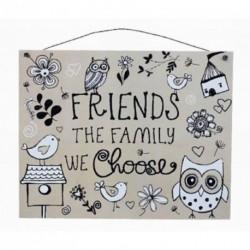 Mini Plaque - Friends the...