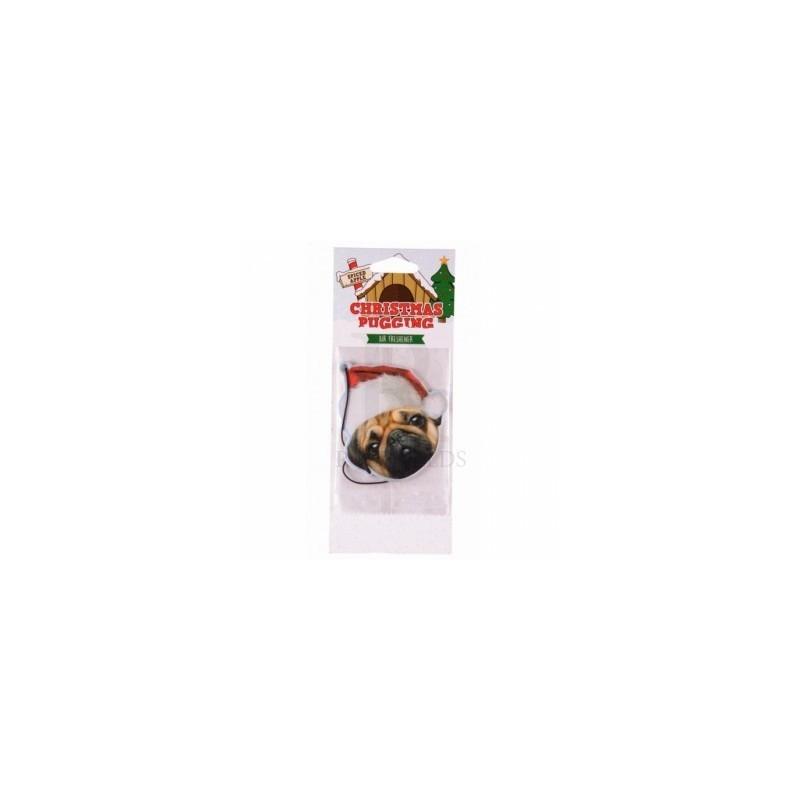 Air Freshner - christmas pug air freshener