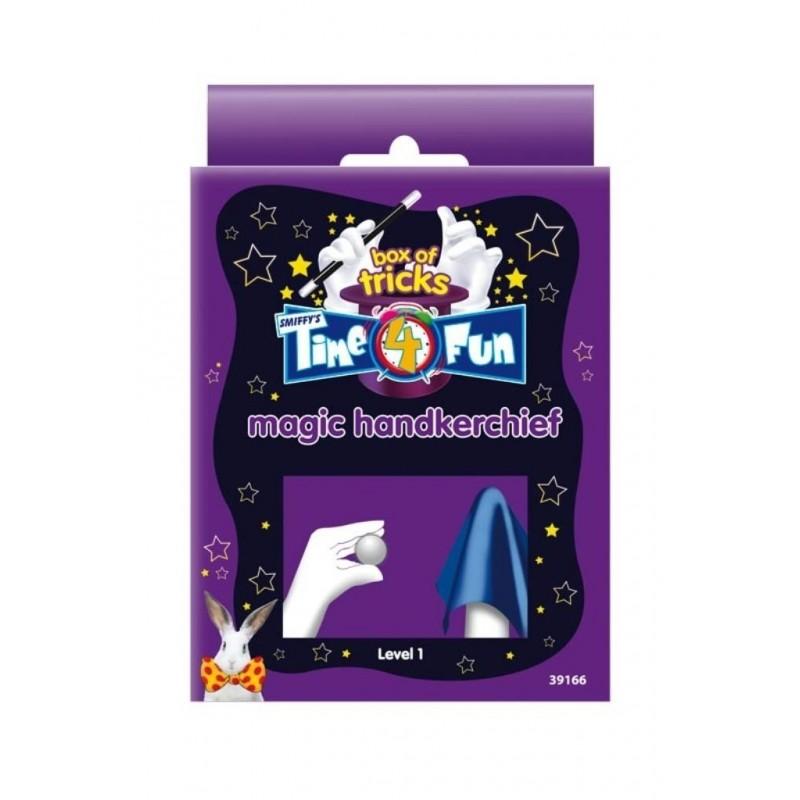 caja de trucos tiempo 4 fun pañuelo mágico de smiffy
