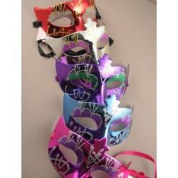 Masquerade Mask - shiny metallic glitter detail...