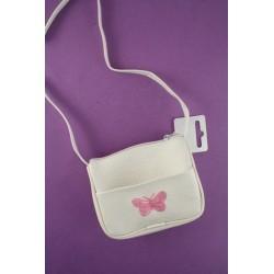 Kinder Handtasche mit gesticktem Schmetterling