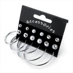 Earring Set - Nine pairs...