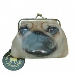 Pug Coin Purse with snap...