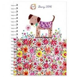 2016 Diary A5 Spiral Bound...