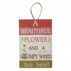 Wooden Sign - A beautiful...