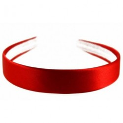 Red Shiny Satin Headband -...