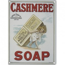 CASHMERE SOAP METAL STEEL ADVERTISING WALL SIGN
