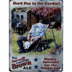 Hard Day in the Garden...
