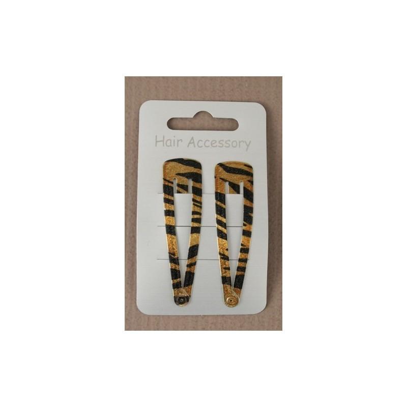 tarjeta de 2 de oro sleepies animales crujido 6cm de impresión.
