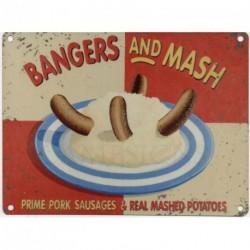 BANGERS AND MASH Metal...
