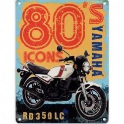 80' ICONS YAMAHA Metal Advertising Signs (SMALL)