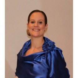 Royal Blue Soft Shiny Satin Shawl Wrap Stole Flower Clip Weddings Prom Races
