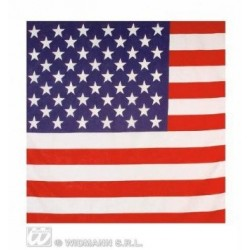 Bandana - Usa American Stars And Stripes Flag Bandana 55X55Cm Biker Head Wrap Scarf