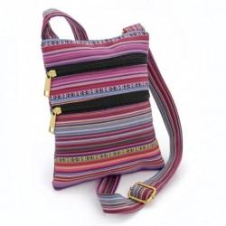 Hip Bag - Pink tone tribal print bag. - (BG30166)