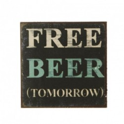Free Beer Fridge Magnet...